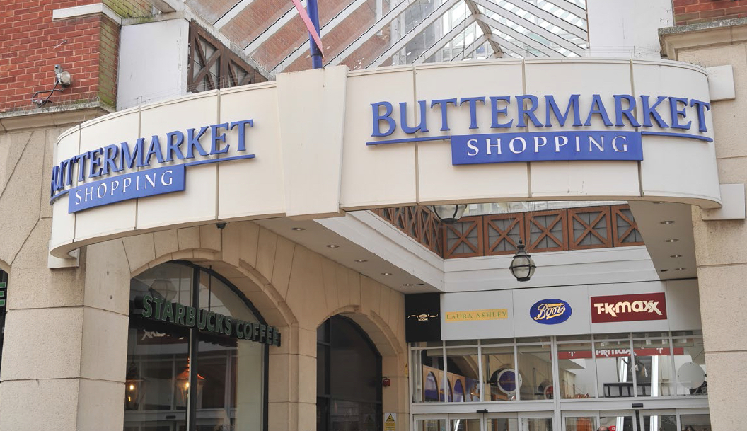 Buttermarket Shopping Centre